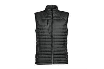 Stormtech Mens Gravity Thermal Vest/Gilet (Black/ Charcoal) (2XL)