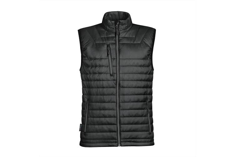 Stormtech Mens Gravity Thermal Vest/Gilet (Black/ Charcoal) (L)