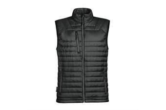 Stormtech Mens Gravity Thermal Vest/Gilet (Black/ Charcoal) (XL)