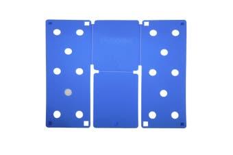 Flip FOLD Standard Garment Folding Tool (Blue) (One Size)