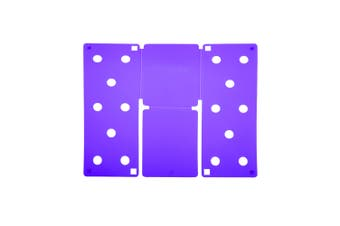 Flip FOLD Small Flip FOLD® / Garment Folding Tool (Purple) (One Size)