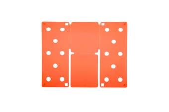 Flip FOLD Small Flip FOLD® / Garment Folding Tool (Orange) (One Size)
