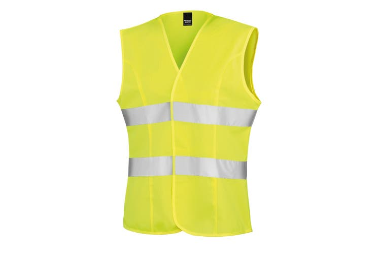 Result Womens/Ladies Reflective Safety Tabard (Fluorescent Yellow) (M)