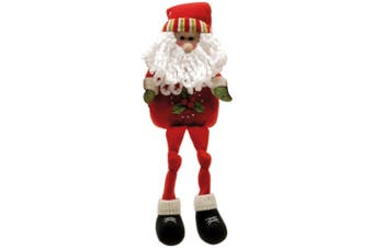 Christmas Shop Plush Shelf Sitter Figures (Red Santa) (One Size)