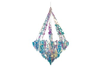 Christmas Shop Holographic Icicle Chandelier (Holographic) (One Size)