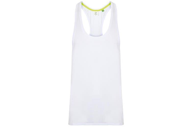 Tombo Mens Muscle Vest (White) (S)