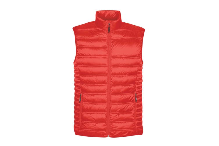 Stormtech Mens Basecamp Thermal Quilted Gilet (Red) (S)