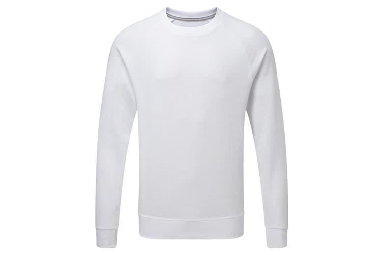Russell Mens HD Raglan Sweatshirt (White) (3XL)