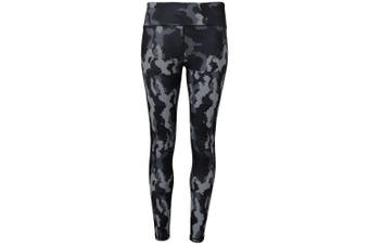 Tri Dri Womens/Ladies Performance Hexoflage Leggings (Camo Charcoal) - UTRW5568