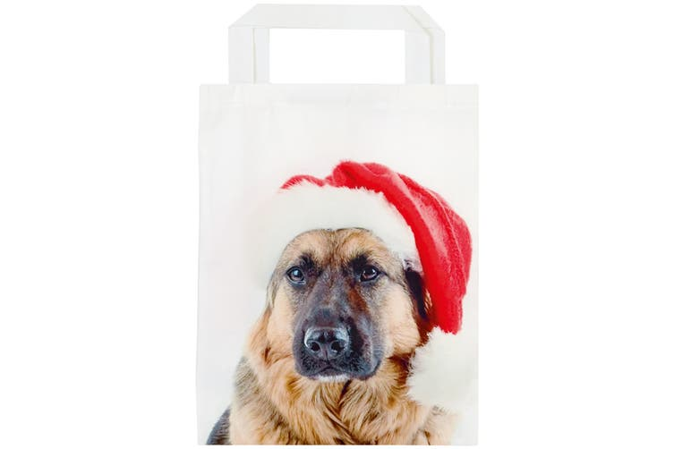 Christmas Shop Fabric Animal Bag (Dog) (One size)