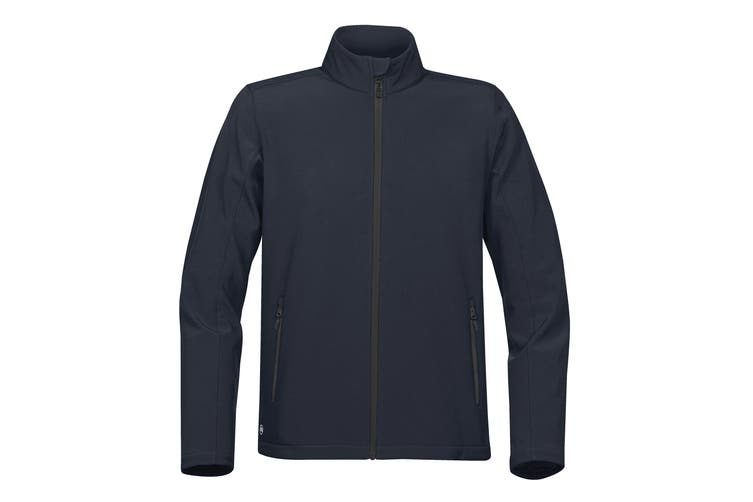Stormtech Mens Orbiter Softshell (Navy/ Carbon) (XL UK)