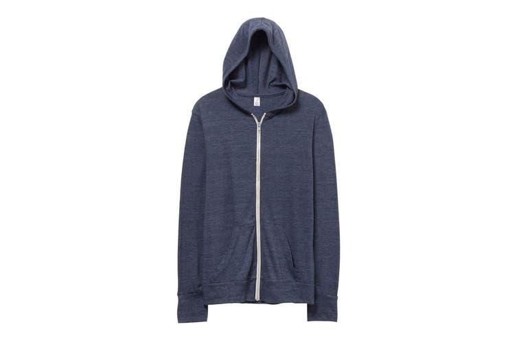 Alternative Apparel Mens Eco-Jersey Hoodie (Eco True Navy) (L)