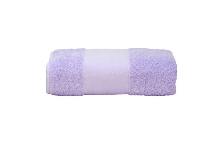 A&R Towels Print-Me Big Towel (Light Purple) (One Size)