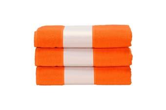 A&R Towels Subli-Me Hand Towel (Bright Orange) (One Size)