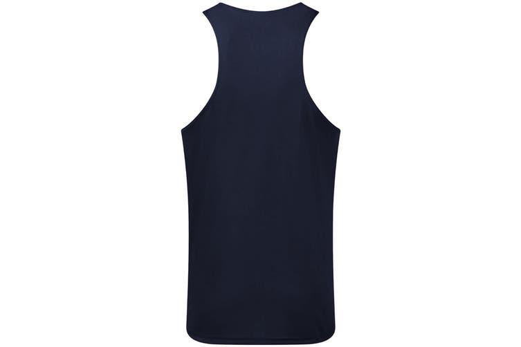 Gildan Mens Performance Racerback Vest (Sport Dark Navy) (S)