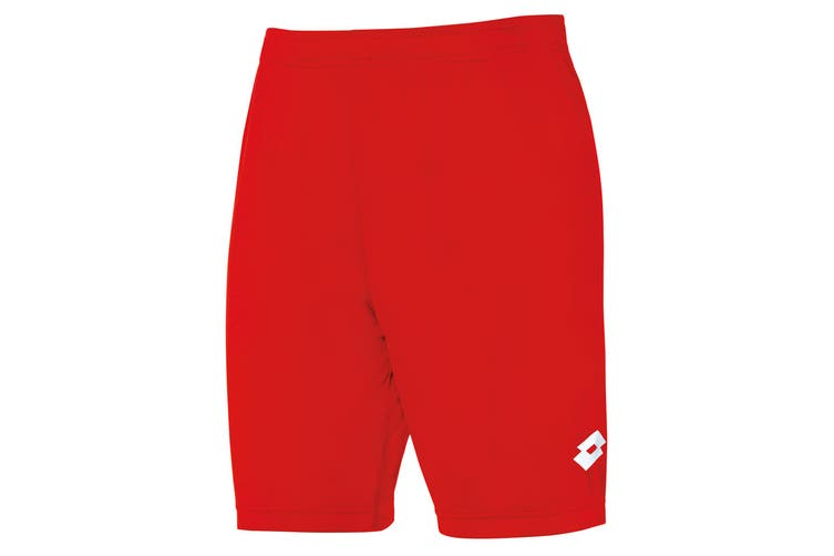 Lotto Junior Unisex Delta Shorts (Flame) (MB)