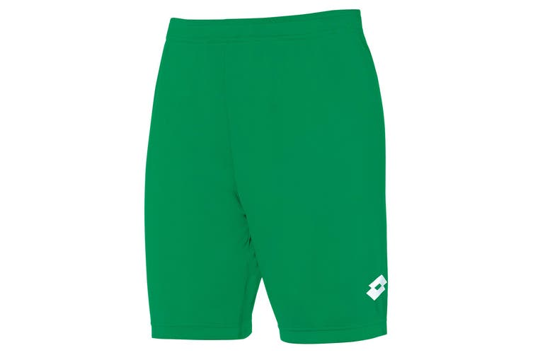 Lotto Junior Unisex Delta Shorts (Grass) (LB)