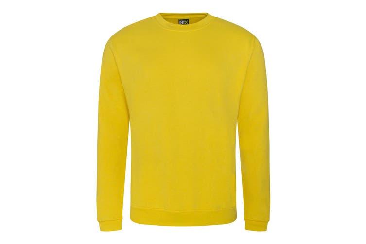 Pro RTX Mens Pro Sweatshirt (Yellow) (S)