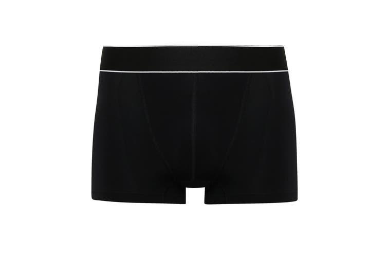 TriDri Mens Boxer Briefs (Black/White) (2XL)