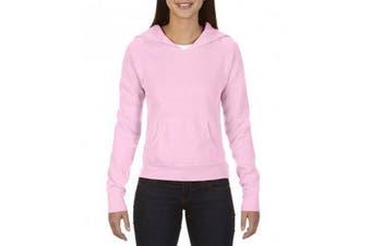 Comfort Colors Womens/Ladies Hooded Sweatshirt (Blossom) (M)
