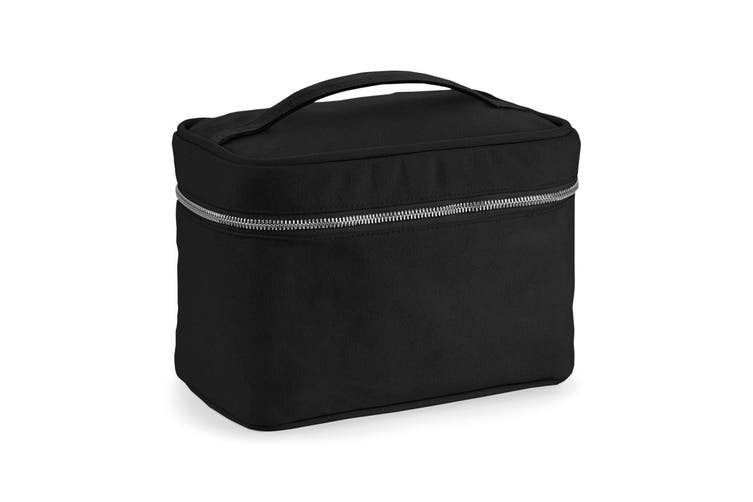 Westford Mill Canvas Vanity Case (Black) (One Size)
