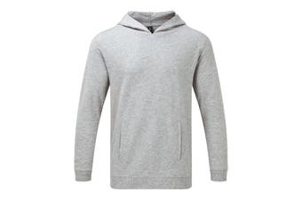 Anvil Unisex Light Terry Hoodie (Heather Grey) (3XL)