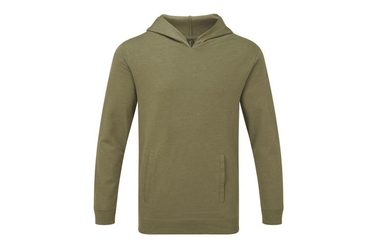 Anvil Unisex Light Terry Hoodie (Heather City Green) (XS)