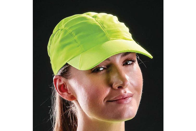 Result Headwear Impact Sports Cap (Flo Yellow) (One Size)