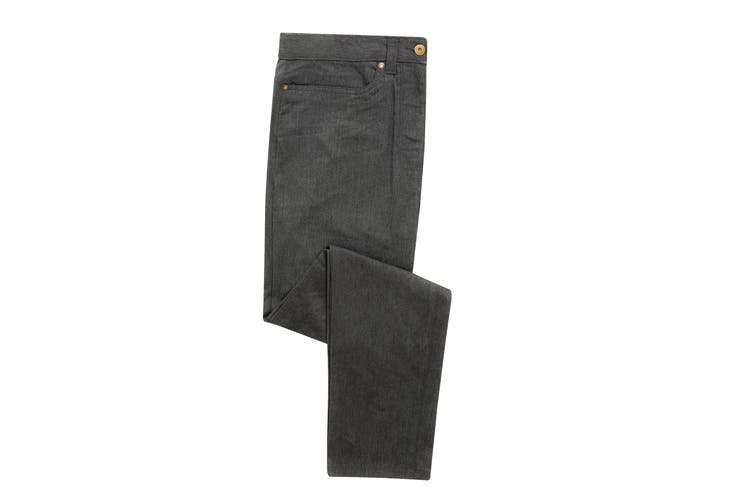Premier Mens Performance Chinos (Charcoal) (30R)