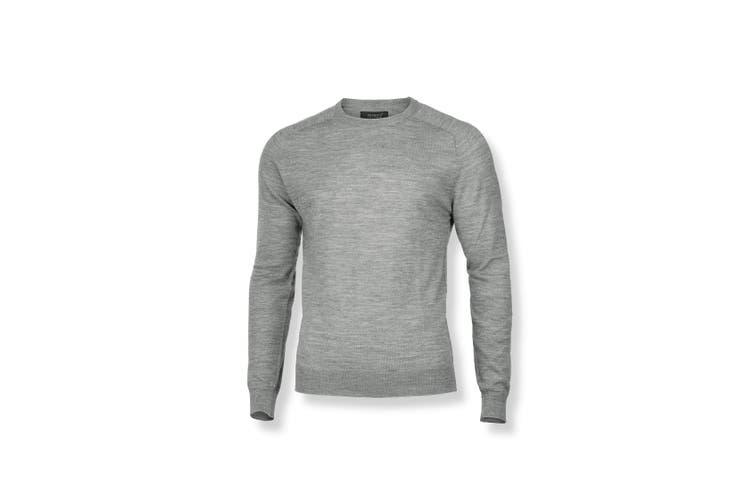 Nimbus Mens Richmond Knitted Jumper (Grey Melange) (3XL)