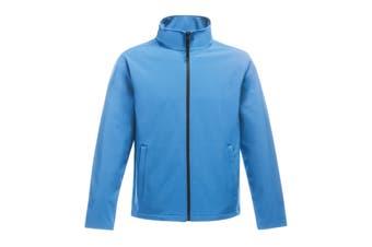 Regatta Standout Mens Ablaze Printable Softshell Jacket (French Blue/Navy) (2XL)