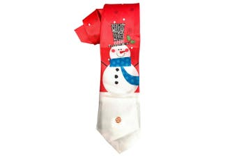 Christmas Shop Mens Musical Christmas Tie (Snowman) (One Size)