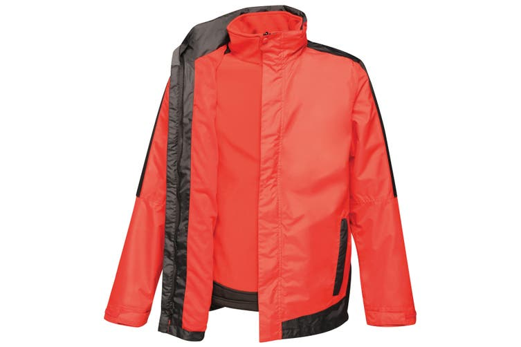 Regatta Mens Contrast 3-In-1 Jacket (Classic Red/Black) (2XL)