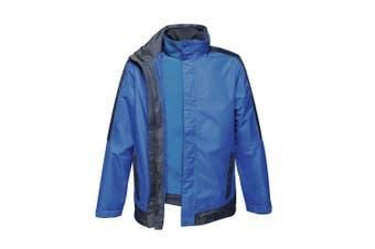 Regatta Mens Contrast 3-In-1 Jacket (New Royal Blue/Navy) (XS)