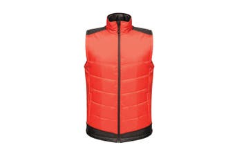 Regatta Mens Contrast Insulated Bodywarmer (Classic Red/Black) (S)