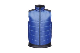 Regatta Mens Contrast Insulated Bodywarmer (New Royal Blue/Navy) (2XL)