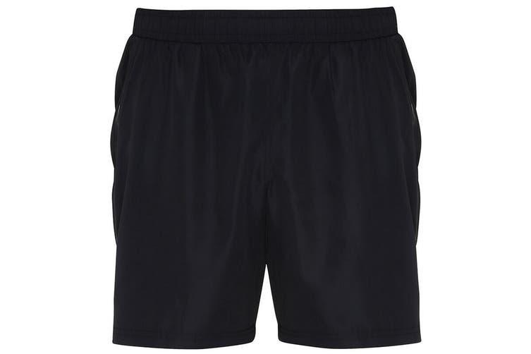TriDri Mens Training Shorts (Black) (2XL)