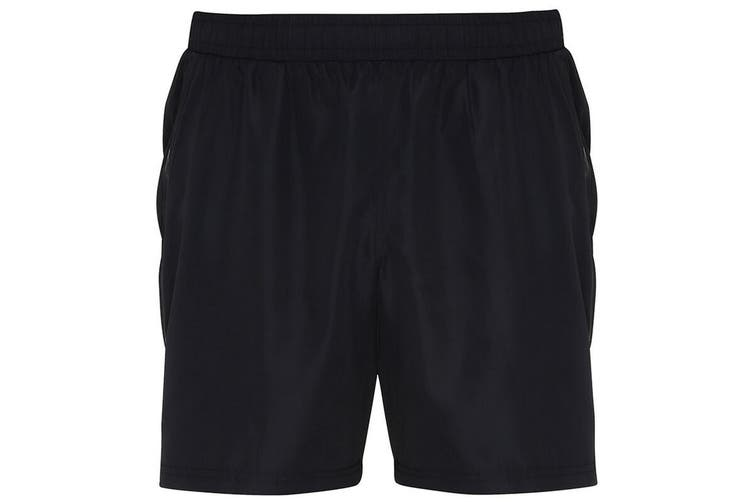 TriDri Mens Training Shorts (Black) (S)