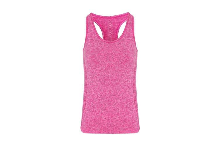 TriDri Womens/Ladies Seamless 3D Fit Multi Sport Sculpt Vest (Pink) (M)