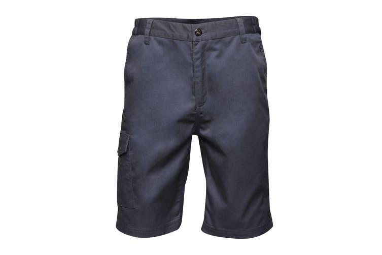 Regatta Mens Pro Cargo Shorts (Navy) (42in)