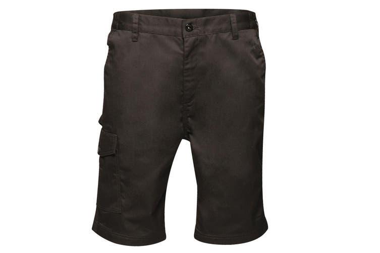 Regatta Mens Pro Cargo Shorts (Black) (42in)
