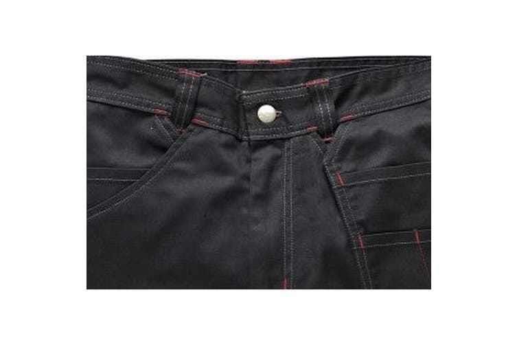 Dickies Mens Redhawk Pro Reinforced Work Shorts (Pack of 2) (Black) (40)