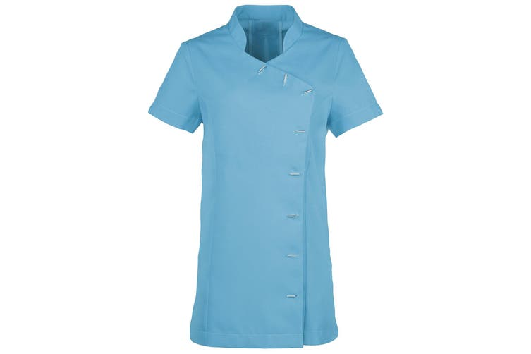 Premier Womens/Ladies *Orchid* Tunic / Health Beauty & Spa / Workwear (Pack of 2) (Sapphire) (14)