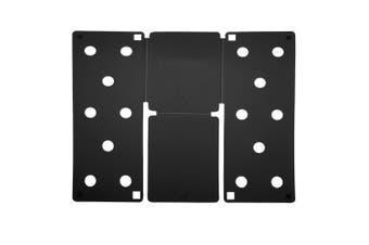 Flip FOLD Standard Garment Folding Tool (Pack of 2) (Black) (One Size)