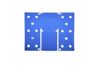 Flip FOLD Small Flip FOLD® / Garment Folding Tool (Pack of 2) (Blue) (One Size)