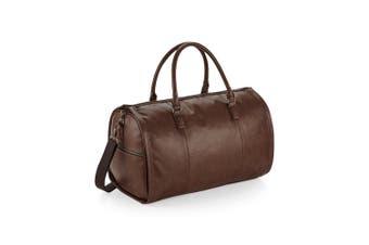 Quadra Nuhide Garment Weekender Duffel/Holdall Bag (Tan) (One Size)