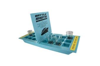 Christmas Shop Unisex Adults Battle Shots Drinking Game (Blue) (One Size)