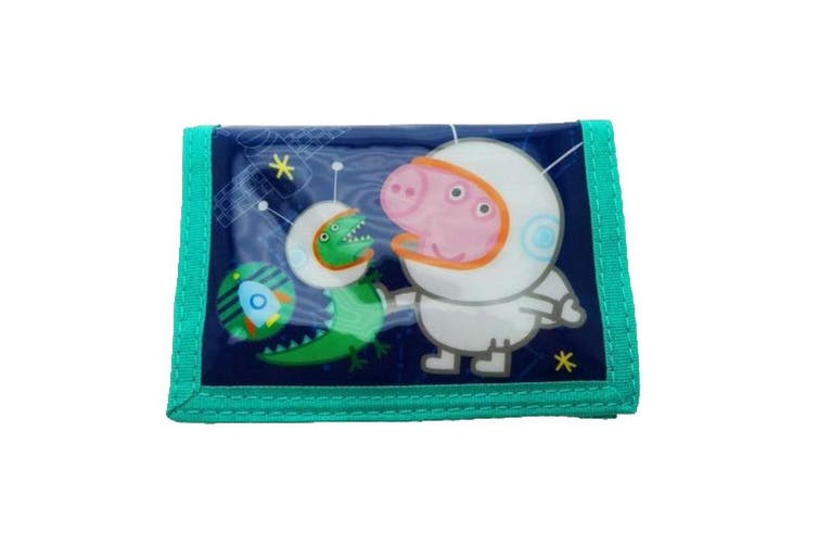 Peppa Pig Childrens/Kids George Pig Cosmic Wallet (Navy) (One Size)