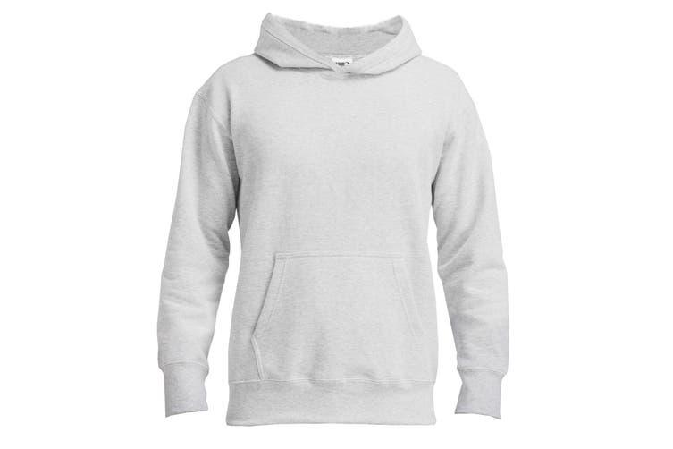 Gildan Mens Hammer Hooded Sweatshirt (Ash) (XXL)