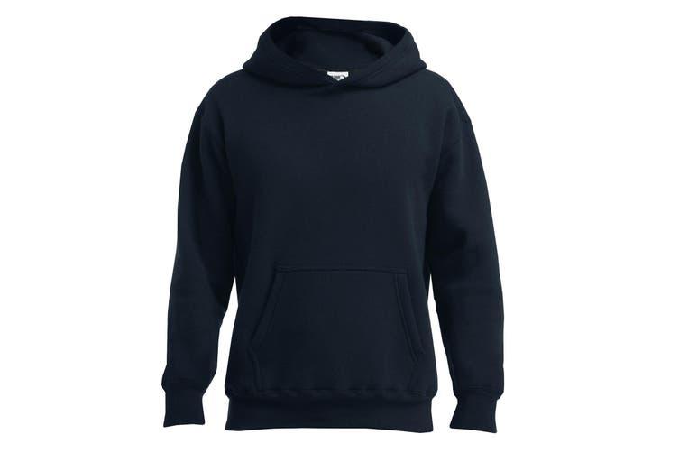 Gildan Mens Hammer Hooded Sweatshirt (Black) (M)